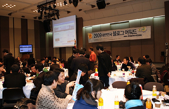 대한민국 최고의 기업 블로그 선정에 감사드립니다.
