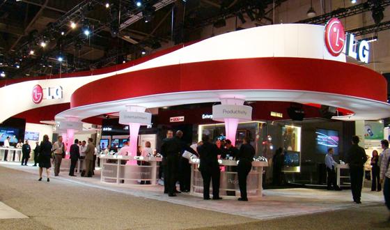 CTIA  와이어리스 2010에서 눈길을 끈 LG휴대폰