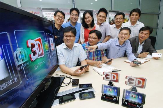 국내 최초 3D 스마트폰, 옵티머스 3D 개발팀을 직접 만나다