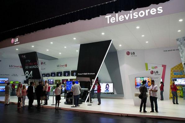 '화질의 LG', 브라질서 빛나다