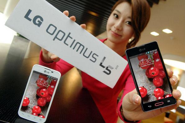 LG전자 '옵티머스 L5II' 글로벌 출시