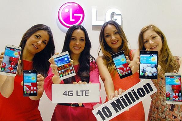 LG전자 LTE 스마트폰 글로벌 1,000만대 돌파