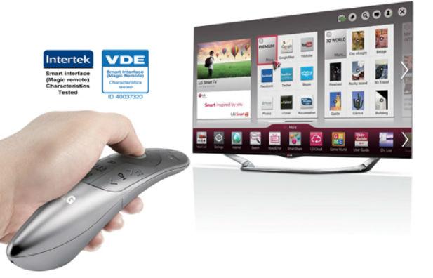LG 매직리모컨, 유럽서 '사용편의성' 인정