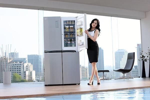 사랑에 사는 여자, 김태희의 LG DIOS 광고 촬영 현장