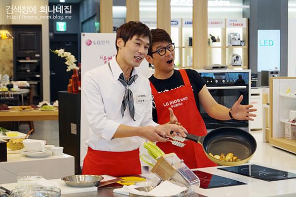 행복을 요리하는 LG 디오스 빌트인 쿠킹클래스