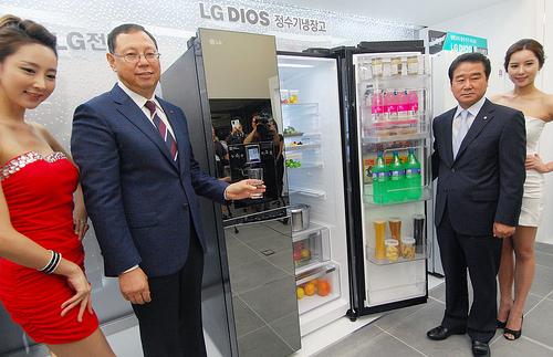 신개념 'LG 디오스 정수기냉장고' 출시