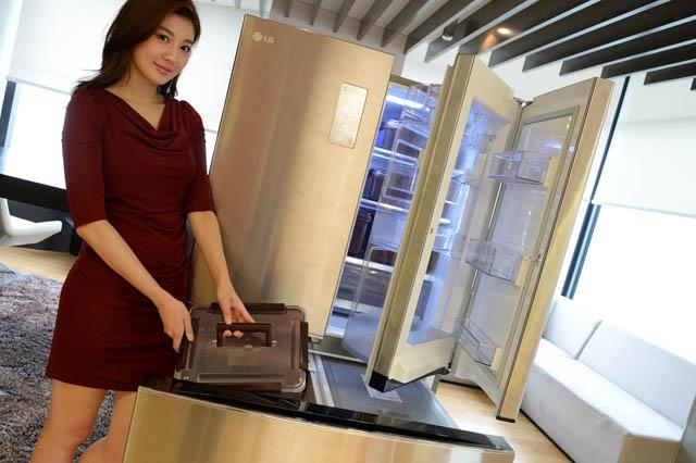 LG전자 '디오스 김치톡톡 프리스타일' 냉장고 인기