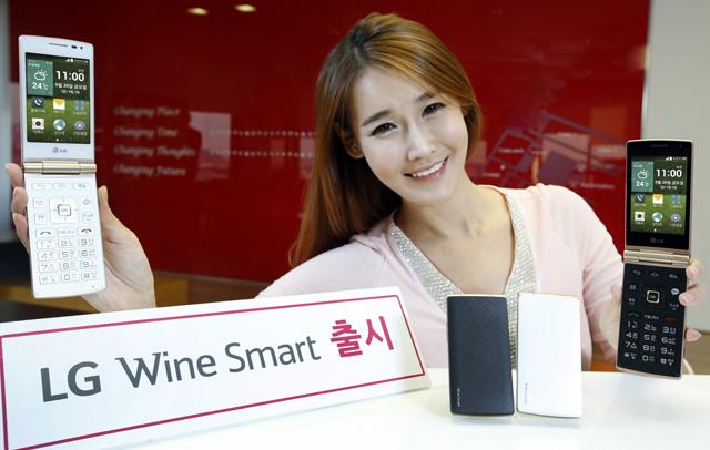 LG전자, '카카오톡' 전용 버튼 적용한 '와인스마트' 출시