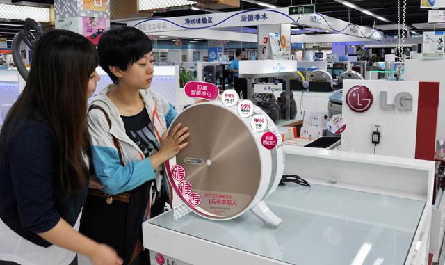 LG전자, 프리미엄 공기청정기 중국 출시