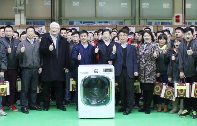 LG전자, 中서 세탁기 생산 3천만대 돌파