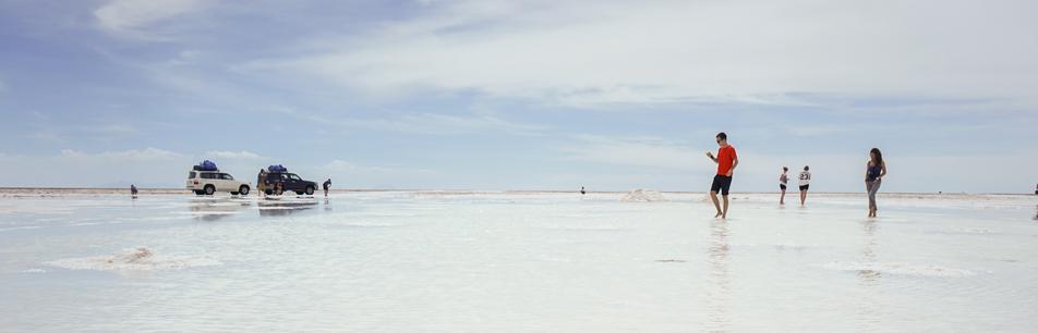 직장인 남미여행, 볼리비아 우유니 소금사막