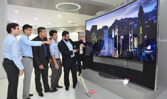 LG전자, '초고화질 TV'로 브라질 프리미엄TV 시장 공략