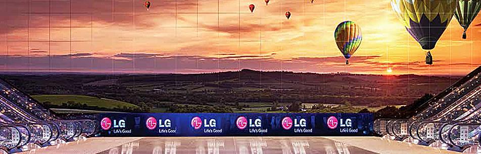 LG 디지털 사이니지로 보다 생생하게 즐겨라