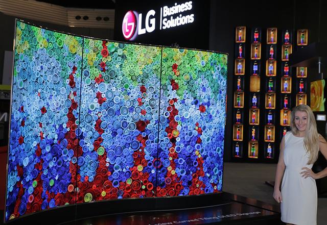 LG 올레드, 사이니지 시장 판도 바꾼다