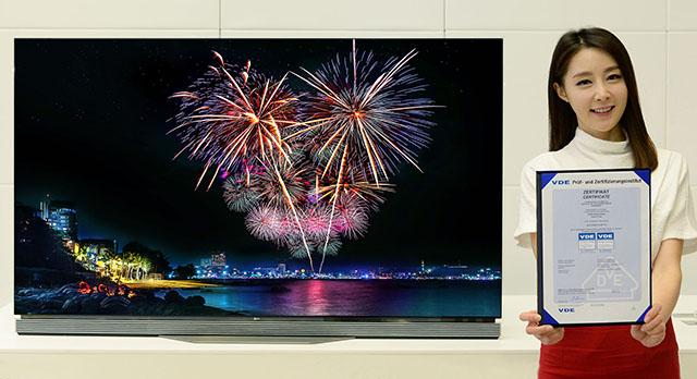 LG 올레드 TV, 獨서 HDR 화질 인증