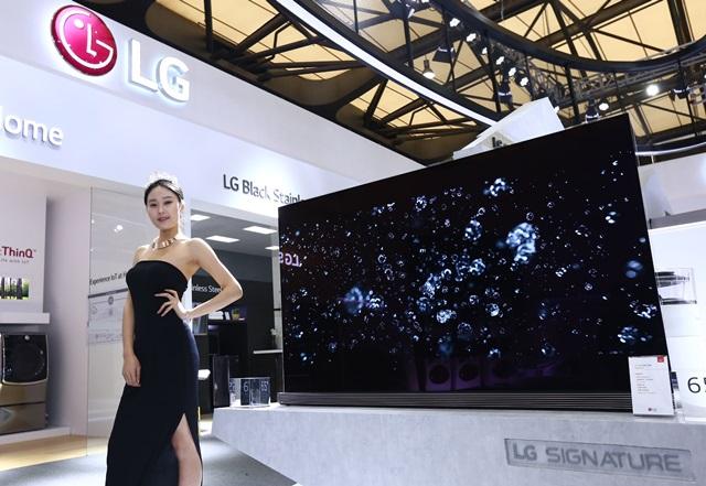 ' LG 시그니처', 중국 무대 데뷔