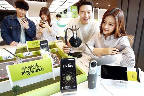 LG전자, 'LG G5′ 글로벌 출시