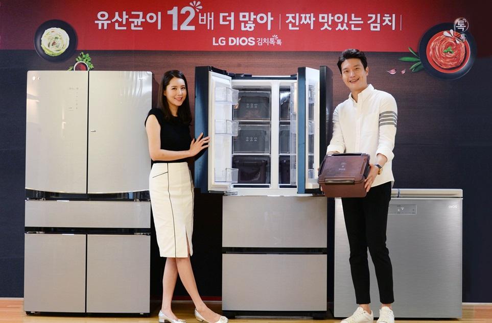 2018년형 'LG 디오스 김치톡톡' 49종, 성능ㆍ효율ㆍ편의성 모두 잡았다