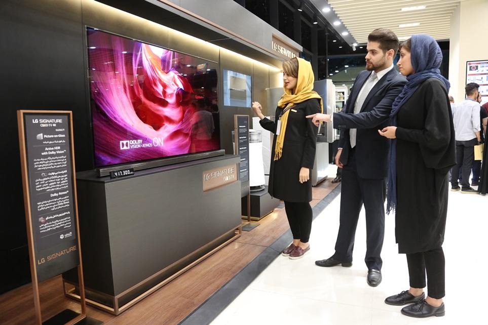 超프리미엄 'LG 시그니처'中東 최대시장 이란 출사표