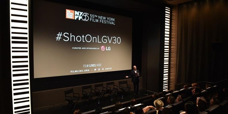 LG V30, 뉴욕서 세계 영화인 눈길 사로잡았다