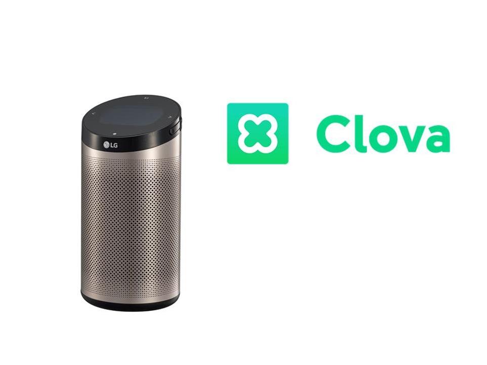 네이버 인공지능 플랫폼 '클로바', LG전자 인공지능 스피커에 탑재
