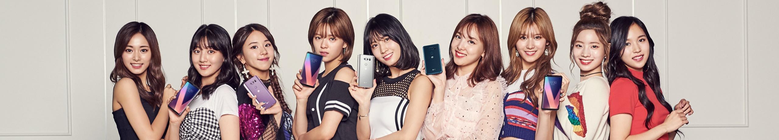 'LG V30' x '트와이스' 사인회 이벤트