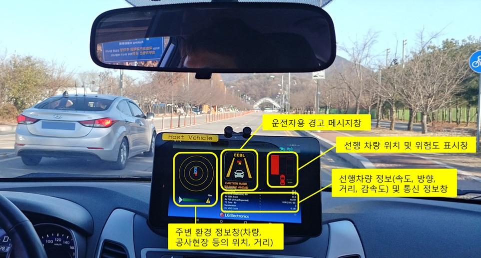 'LTE 자율주행 안전기술' 국내 최초 개발 성공