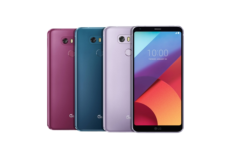 LG V30 인기 색상, LG G6와 Q6에서도 즐기자