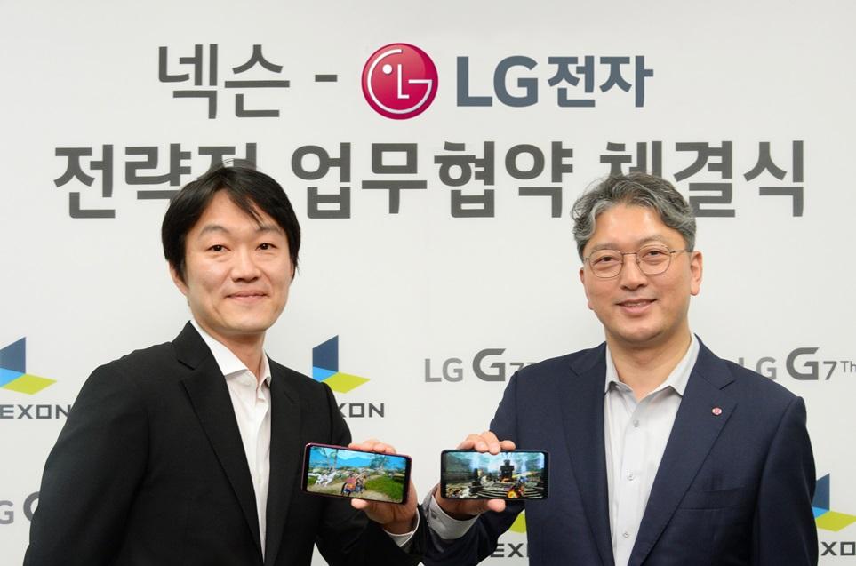 LG G7 <sup>ThinQ</sup>로 최신 게임 '카이저' 제대로 즐긴다