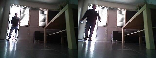 빈 집 들어온 도둑 쫓아낸 LG 로봇청소기