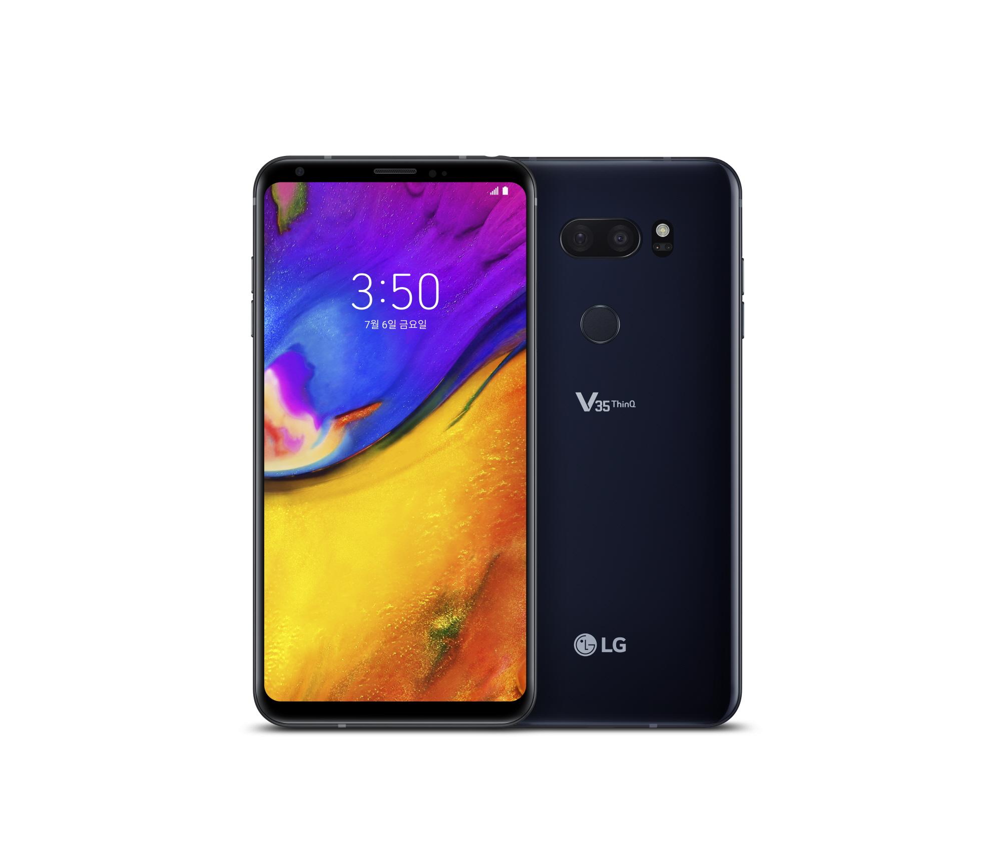 LG V35 <sup>ThinQ</sup> 국내 출시