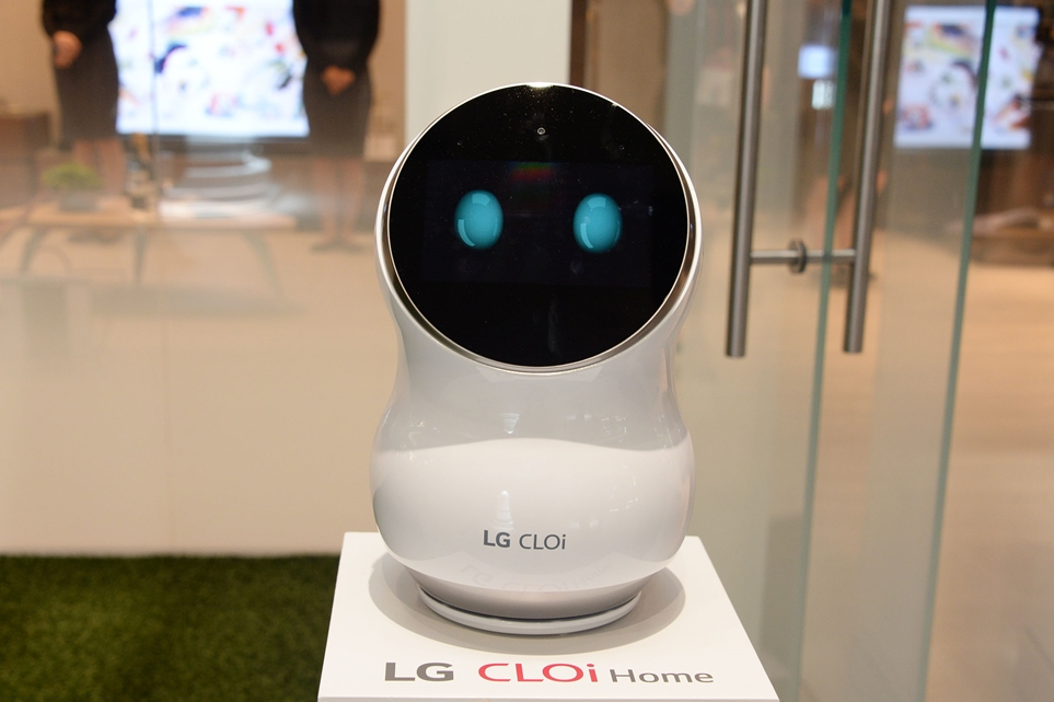 [LG 클로이 홈봇] 우리 집 인공지능 집사