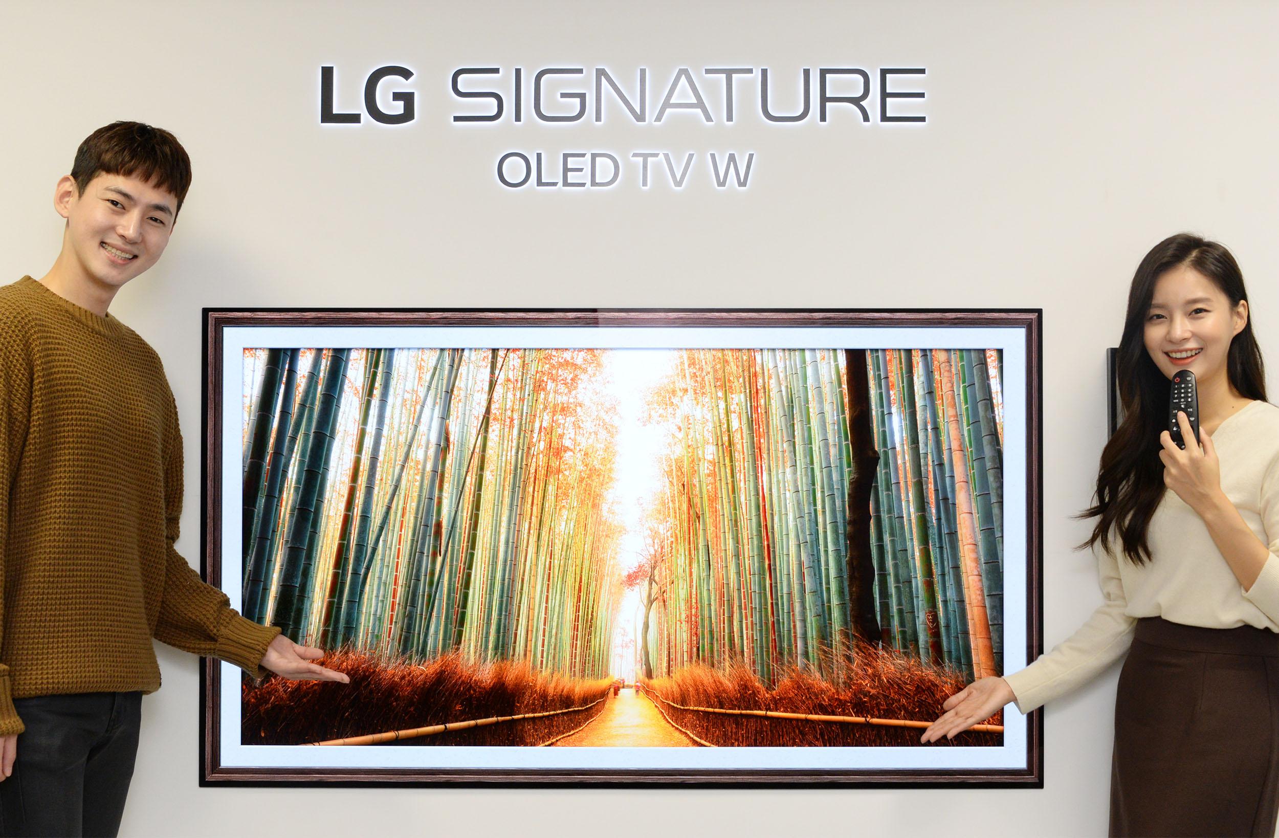 가을 옷 갈아입은 LG 프리미엄 TV