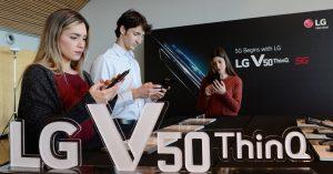 'MWC19' 시작! LG V50 <sup>ThinQ</sup> – G8 <sup>ThinQ</sup> 동반 출격