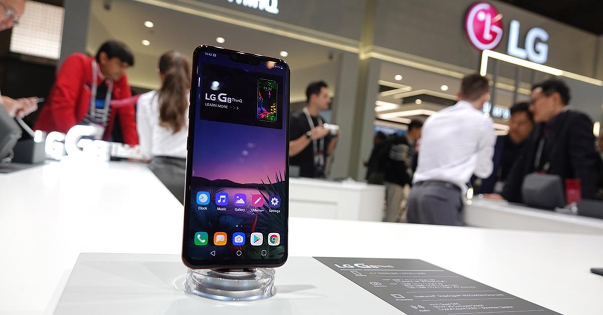 'MWC19' LG G8 <sup>ThinQ</sup>! 혁신 종합선물세트를 만나다