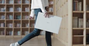 """LG 그램 17, """"저는 키도 크고, 슬림한데다 체력까지 좋아요!"""""""