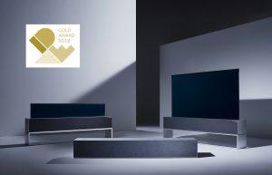세계 첫 롤러블 TV 'LG 시그니처 올레드 TV R', 세계 권위의 디자인상 'IDEA' 최고상 수상