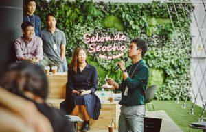 [LG 핫플 #2] 자유로운 지식 교류의 장, '살롱 드 서초'