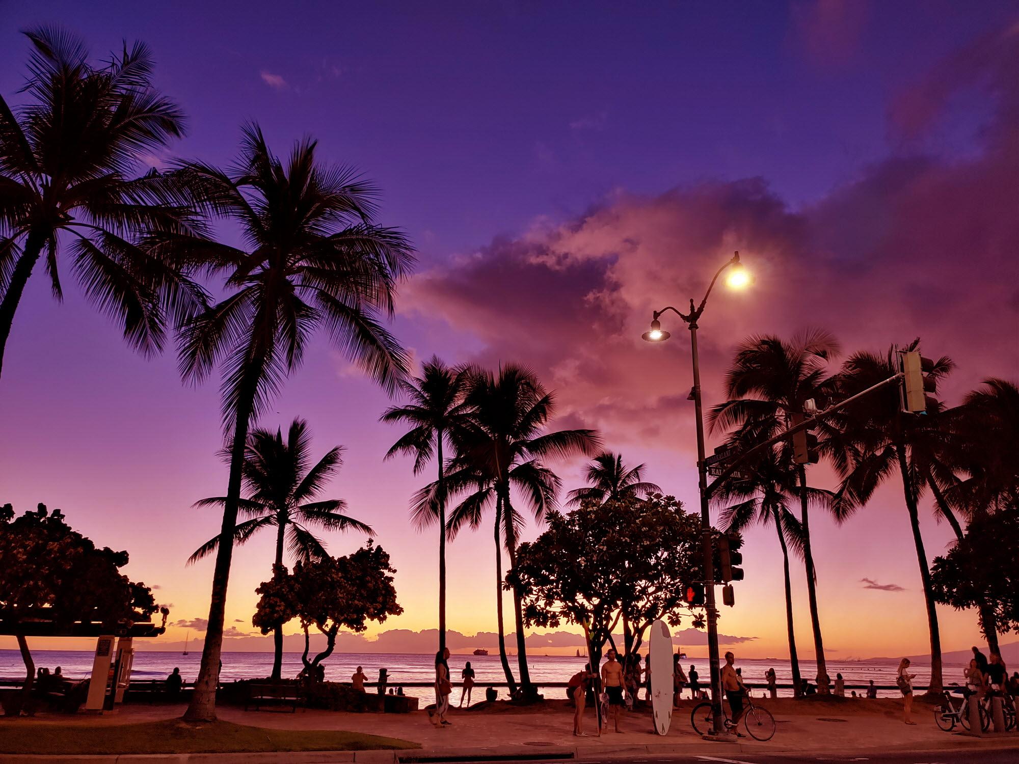 LG V50S ThinQ로 촬영한 하와이의 아름다운 사진 공개