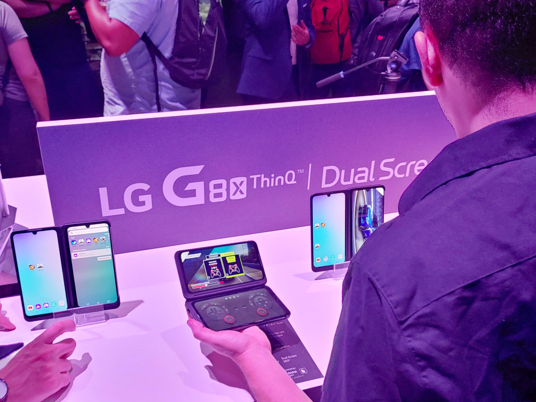 'LG 듀얼 스크린' 브라질에 첫 선 중남미 스마트폰 시장 공략 가속화