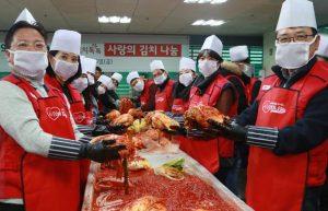 '사랑의 김치'로 함께 나누는 따뜻한 삶