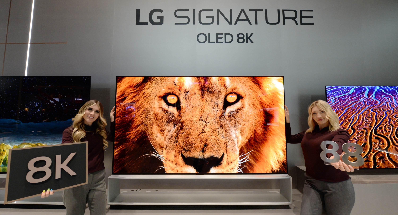 기술 리더십 앞세워 프리미엄 TV 시장 선도 2020년형 'LG 올레드 TV' CES서 첫 선