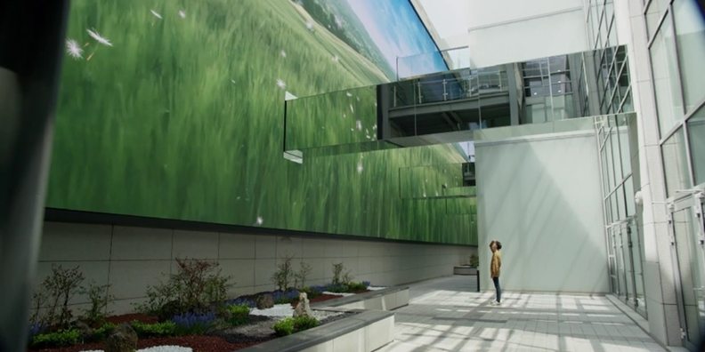 [디자인 견문록] 치료를 넘어 치유의 공간, 서울대병원 선큰가든