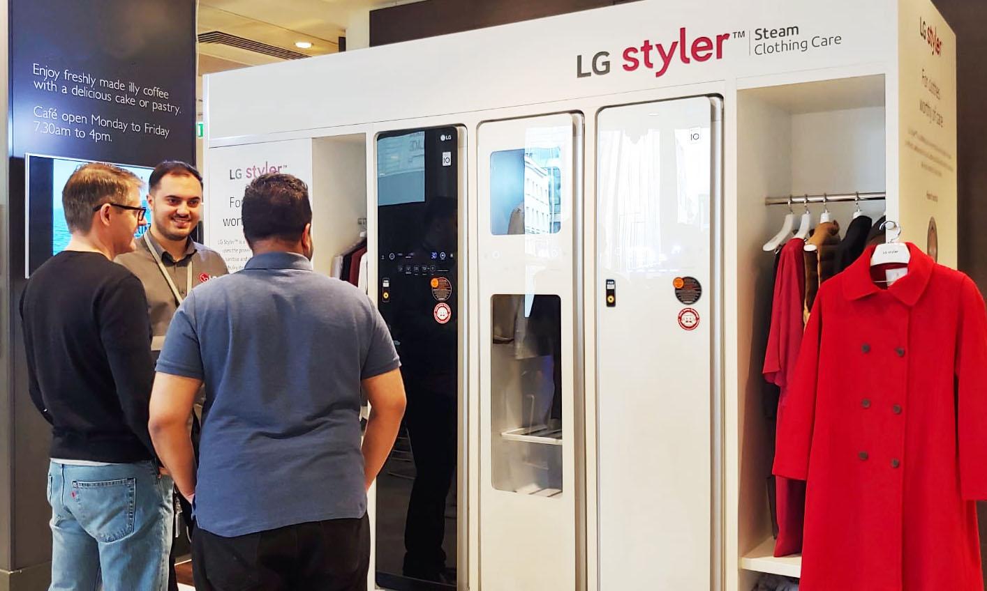 LG 스타일러 英 프리미엄 백화점 '존 루이스' 입점