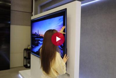 LG 올레드 AI ThinQ – 갤러리 디자인으로 공간의 가치를 찾다