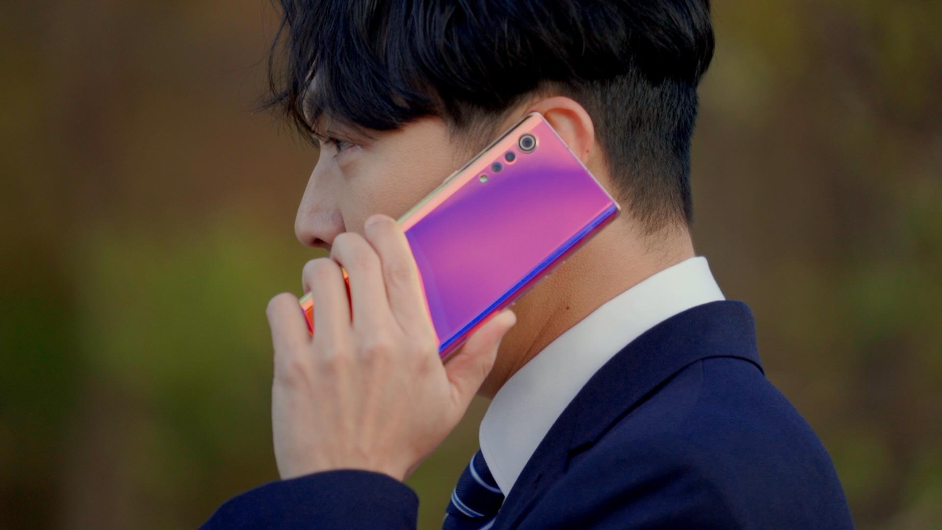 LG 벨벳 디지털 캠페인 진행