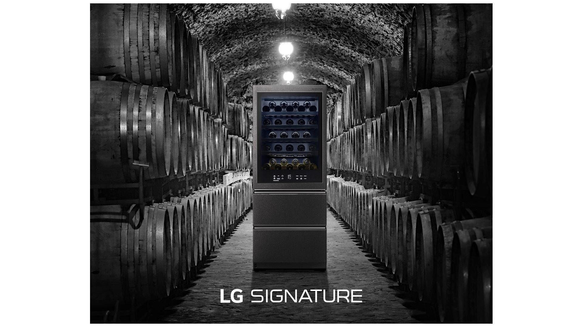 超프리미엄 'LG 시그니처 와인셀러', 美서 와인평론가와 '온택트' 이벤트