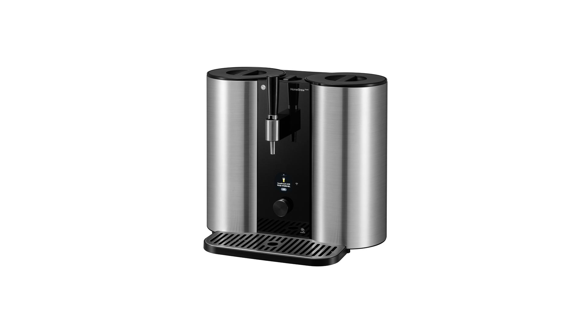 100만원대 캡슐형 수제맥주제조기 'LG 홈브루' 신제품 출시