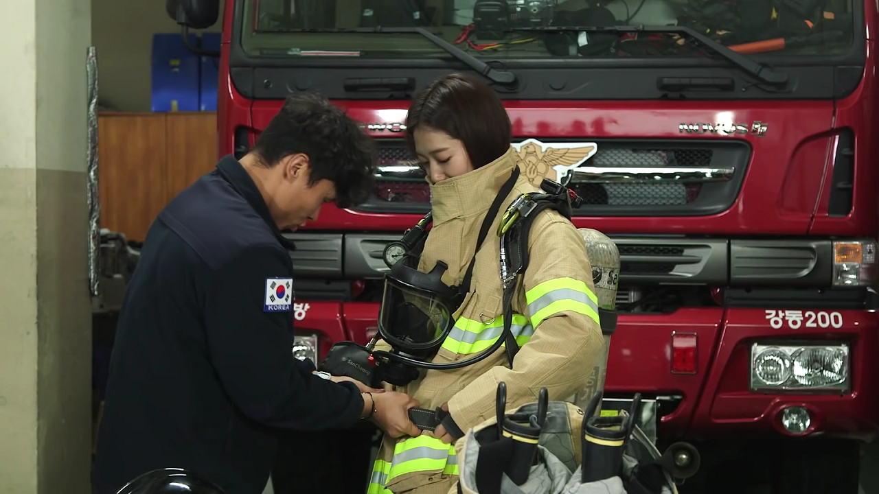 LG전자X박신혜 – 박신혜가 소방서에 LG 방화복 세탁기를 선물한 까닭은?