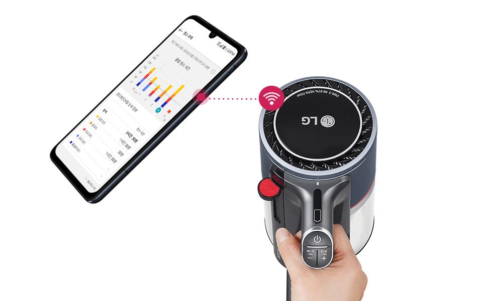 LG ThinQ 앱과 연동 가능한 A9S